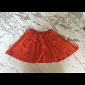 Topshop Mini Circle Skirt